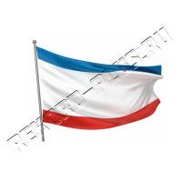 Флаг Крыма большой  РК00391