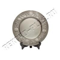 Тарелка металлическая  WX-8010