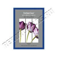Рамка для сертификата Interior Office 21х30 серия Арте синий, со стеклом артикул 1-03000   9С-6