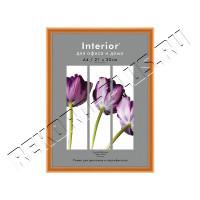 Рамка для сертификата Interior Office 21х30 матовое золото, со стеклом артикул 5-04577   9С-6