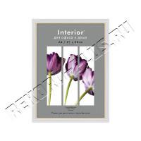Рамка для сертификата Interior Office 21х30 молоко 581, со стеклом артикул 5-11164
