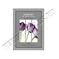 Рамка для сертификата Interior Office 21x30 (A4) 290 серебро, со стеклом  артикул 5-11748