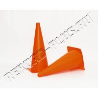 Конус 18 см оранжевый    0551