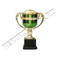 Кубок зеленый + золото  C906  Цену смотрите внутри!