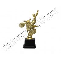 Статуэтка пластик Мотоциклист Финиш   B903-15