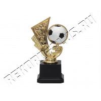 Статуэтка пластик Футбол Мяч Салют   R018