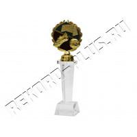 Стелла стеклянная Футбол   CT-W1