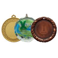 Медали для гравировки и наклеек