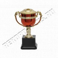 Кубок красный + золото C906