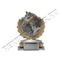 Конь серебро РК00318