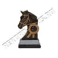 Статуэтка лошадь с местом под жетон   HX1826-AA