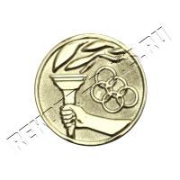 Жетон  D25 Олимпийский огонь кольца  A1425Z