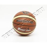 Баскетбольный мяч HOUXANE HX718 коричн/беж  570354304075