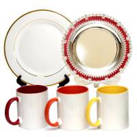 Печать на кружках и сувенирных тарелках в Симферополе для Крыма