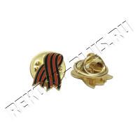 Значок георгиевская лента  РК00427