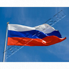 Купить Флаг Россия большой РК00388 в Симферополе