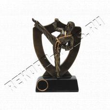 Купить Статуэтка каратэ с местом под жетон  (золото)  HX2474-A в Симферополе