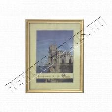 Купить Рамка 21*30 см (серия 1017)   1123 золото в Симферополе