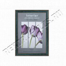 Купить Рамка для сертификата Interior Office 21x30 (A4) 285/267 малахит, со стеклом  артикул 5-07144 в Симферополе