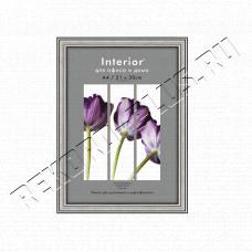 Купить Рамка для сертификата Interior Office 21x30 (A4) 290 серебро, со стеклом  артикул 5-11748 в Симферополе