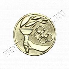 Купить Жетон  D25 Олимпийский огонь кольца  A1425Z в Симферополе
