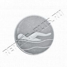 Купить Жетон Плавание D = 50 мм  A1750S в Симферополе